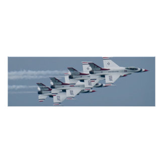 USAF Thunderbirds Stacked Poster