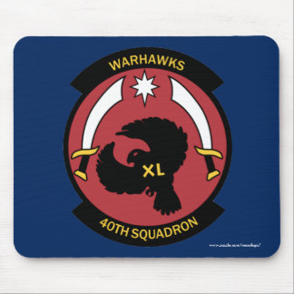 "USAFA Cadet Squadon 40 ""Warhawks"" Mouse Pad"