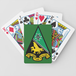 USAFA Cadet Squadron 1 Bicycle Playing Cards