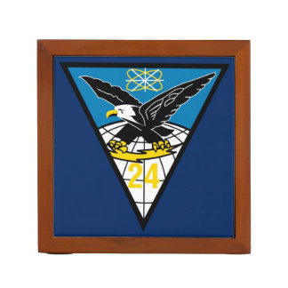USAFA Cadet Squadron 24 Desk Organizer