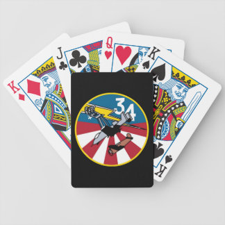 USAFA Cadet Squadron 34 Playing Cards