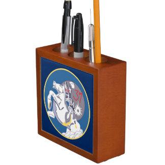 USAFA Cadet Squadron 37 Desk Organizer