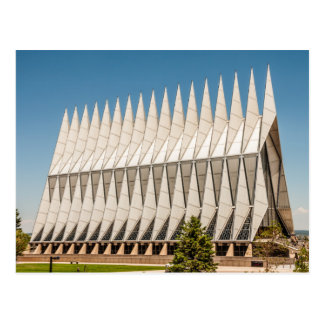 USAFA Chapel, Air Force Academy Postcard