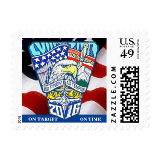 USAFA Class of 2016 Postage Stamp (Small)