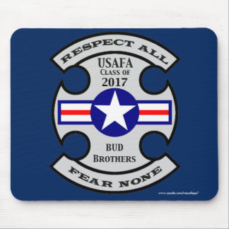 """USAFA Class of 2017 """"Bud Brothers"""" Mouse Pad"""