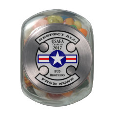 USAFA Class of 2017 Jelly Belly™ Glass Jar at Zazzle