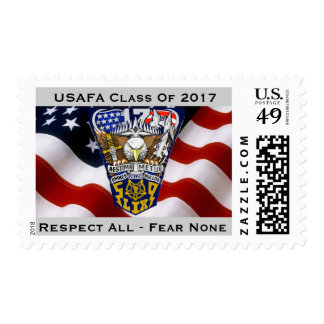 USAFA Class of 2017 Postage Stamps (Medium)