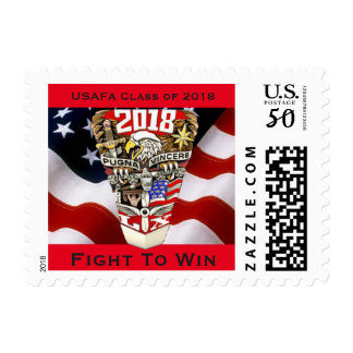 USAFA Class of 2018 Postage Stamps (Small)