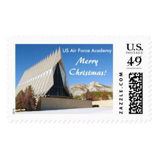 USAFA Merry Christmas Stamp