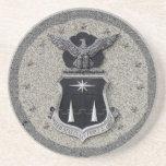 USAFA - shield Coasters
