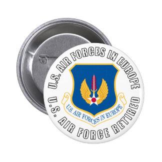 USAFE jubilado Pins