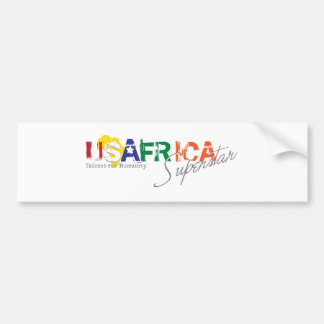USAFRICA SUPERSTAR BUMPER STICKER