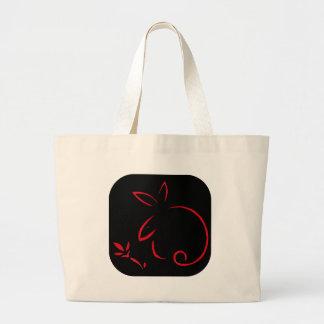 Usagi04 Large Tote Bag