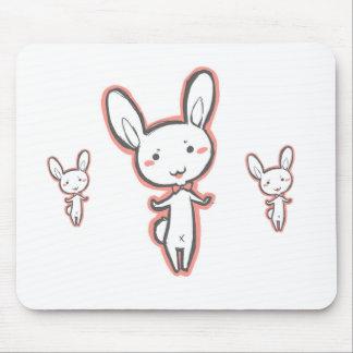 Usagi bunny rabbit mouse pad