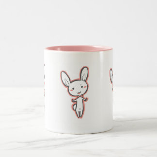 Usagi bunny rabbit Two-Tone coffee mug