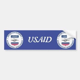 USAID BUMPER STICKER