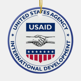 USAID Custom Ceramic Ornament