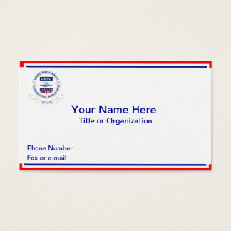 USAID Retired Business Cards