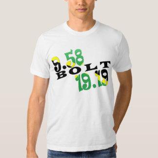 Usain Bolt Berlin 2 WR Jamaican Flag T-Shirt