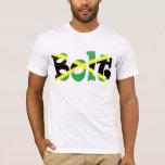 Usain Bolt Jamaican Flag T-shirt