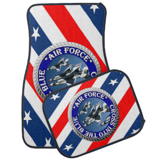 USAIRFORCEFANMERCH, Air Force Design Car Floor Mat