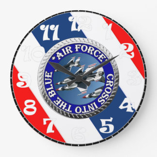 USAIRFORCEFANMERCH, Air Force Design Large Clock