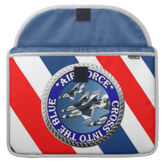 USAIRFORCEFANMERCH, Air Force Design Sleeve For MacBooks
