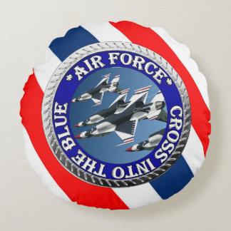 USAIRFORCEFANMERCH, Air Force Design Round Pillow