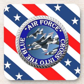 USAIRFORCEFANMERCH, diseño de la fuerza aérea Posavasos