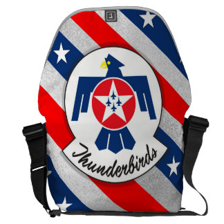 """""""USAIRFORCEFANMERCH"""", Thunderbirds Courier Bag"""