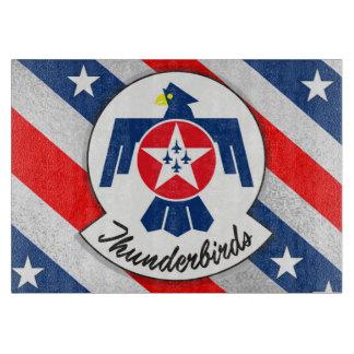 """USAIRFORCEFANMERCH"", Thunderbirds Cutting Board"