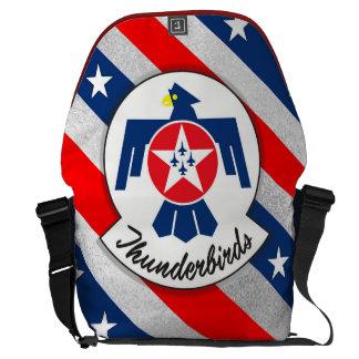 """USAIRFORCEFANMERCH"", Thunderbirds Messenger Bag"