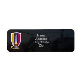 usarv vietnam nam war patch return address labels