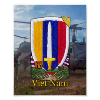 USARV Vietnam Nam War Patch Print