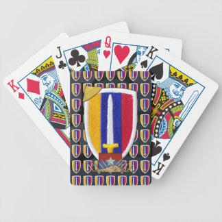 usarv vietnam nam war vets patch poker Cards