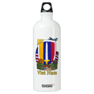 USARV Vietnam war patch veterans SIGG Traveler 1.0L Water Bottle
