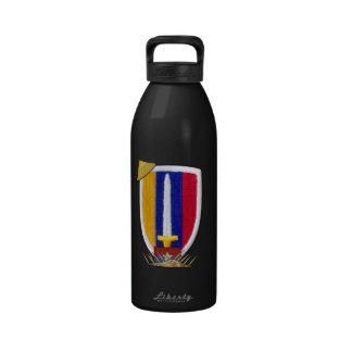 USARV Vietnam war patch veterans Water Bottle