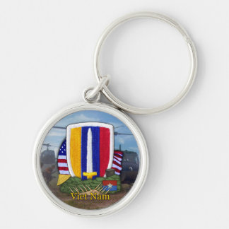USARV vietnam war patch vets Keychain