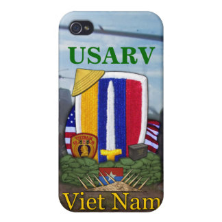 USARV vietnam war veterans vets patch i iPhone 4/4S Case