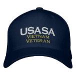 USASA Vietnam Veteran 2 Embroidered Baseball Hat