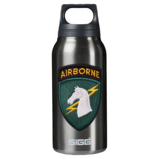 USASOC 1st Special Ops SOCOM Patch Insulated Water Bottle