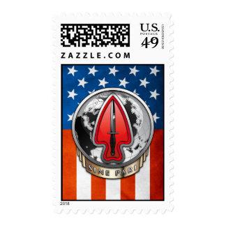 USASOC [New DUI] Postage Stamp