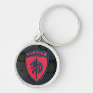 USASOC Special Ops Africa Patch Keychain