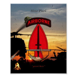 USASOC Special Ops lrrps lrrp recon Poster
