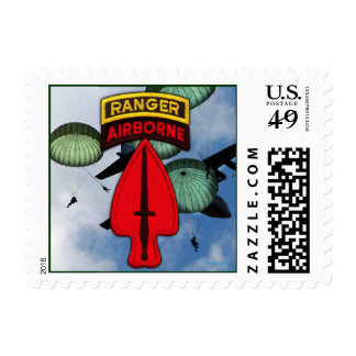 USASOC Special Ops SOF Postage stamp