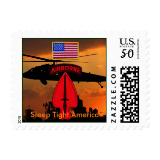 USASOC Special Ops SOF Veterans Vets Patch Postage