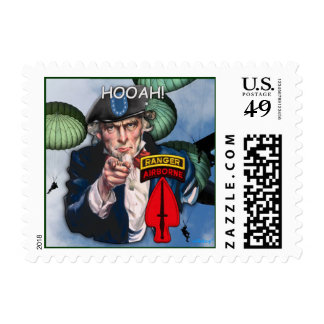 USASOC Special Ops SOF Vets Patch Postage stamp