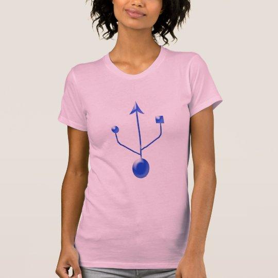 usb-b T-Shirt