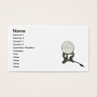 USB Crystal Ball Business Card