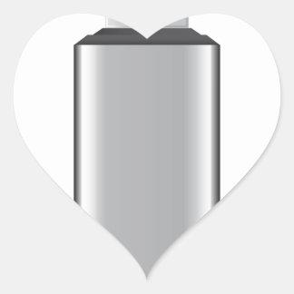 USB drive Heart Sticker